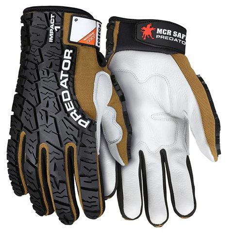 MCR Predator Premium Cow Grain Leather Mechanics Gloves; PD2903