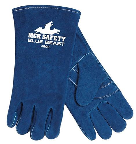 MCR Blue Beast  Select Side Split Leather Welding Glove; 4600