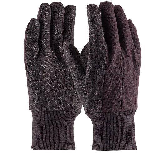 PIP Regular Weight Cotton Jersey with PVC Dot Grip Glove; 750PD