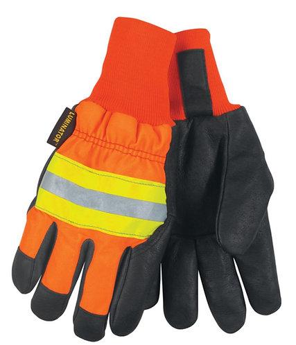 MCR Luminator™ Hi-Vis Gloves; 34411