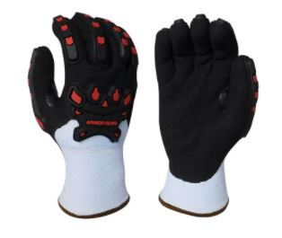 Armor Guys Extraflex Winter Cut 4 Nitrile Coated Palm w/ TPV Protection; 04-314