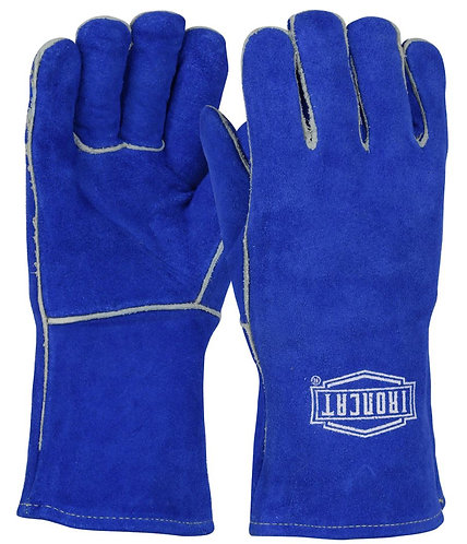 Ironcat® Ladies Shoulder Split Cowhide Leather Welder's Glove 9012L