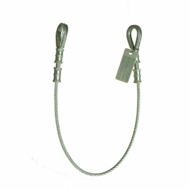 Guardian Galvanized Cable Choker Anchor w/ Thimble Ends