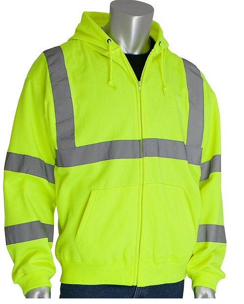 PIP Class 3 Hooded Sweatshirt; 323-HSSE