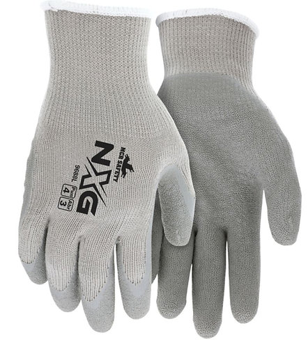 MCR Safety NXG Cotton / Polyester Shell Latex Palm Glove; 9688