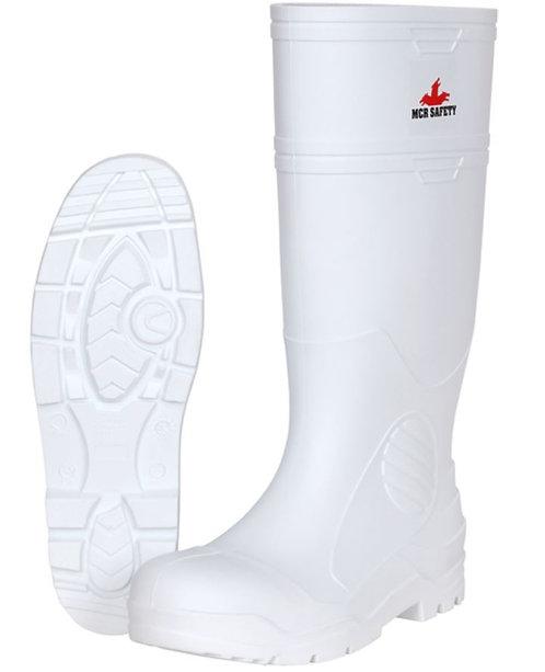 MCR WPBP 16 Inch White PVC Boots; WPBP