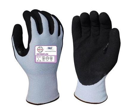 Armor Guys Extraflex, HCT MicroFoam Nitrile Palm Coated Glove; 04-311