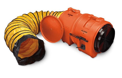 Allegro 16″ Axial AC Plastic Blower w/ Canister & Ducting
