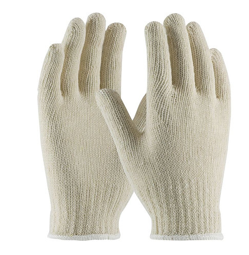 PIP Standard Weight Seamless Knit 100% Cotton Glove; 708SC