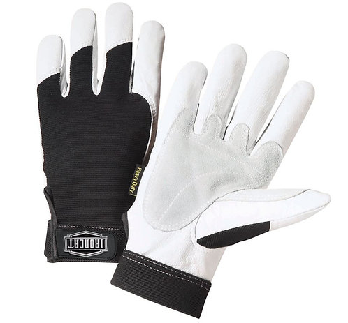 West Chester IronCat Reinforced Top Grain Goatskin Leather Palm Glove; 86550