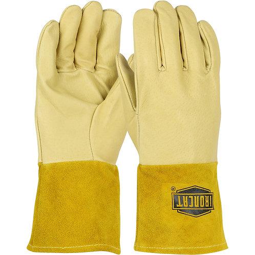 Ironcat® Premium Top Grain Pigskin Leather Mig Welder's Glove; 6021