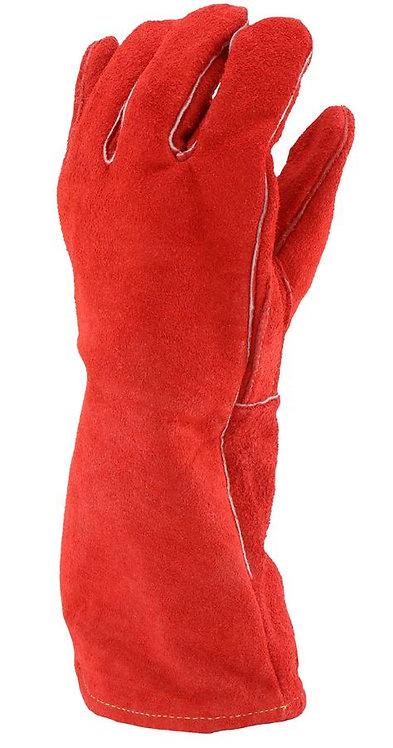 West Chester Ironcat LEFT HAND ONLY Split Cowhide Leather Welder Glove; 9400LHO