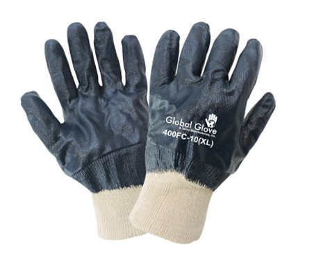 Global Glove Two Piece Interlocked Fully Dipped Gloves; 400FC