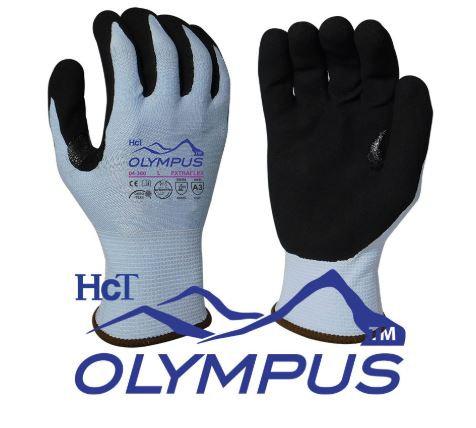 Armor Guys Extraflex Blue, HCT MicroFoam Nitrile Coated Glove; 04-300