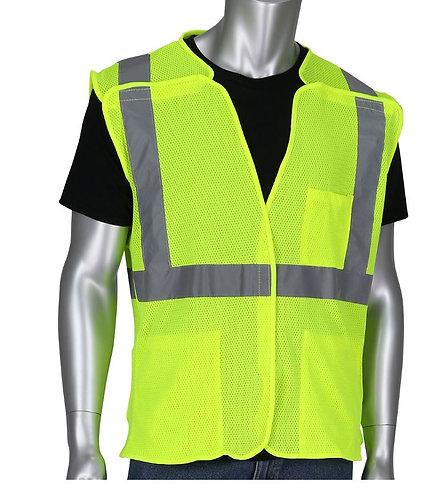 PIP Class 2 Three Pocket Mesh Breakaway Vest