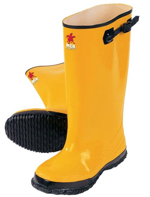 "MCR Yellow Rubber 17"" Slush Boots w/ Adjustable Top Strap; BYR100"