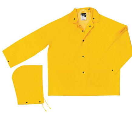 MCR Rainwear Jacket with Detachable Hood; 200J