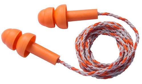 PIP Reusable TPE Corded Ear Plugs - NRR 23