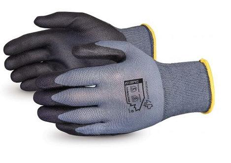 Superior Glove Dexterity Nylon with Foamed PVC Palms Glove; S13BPVC