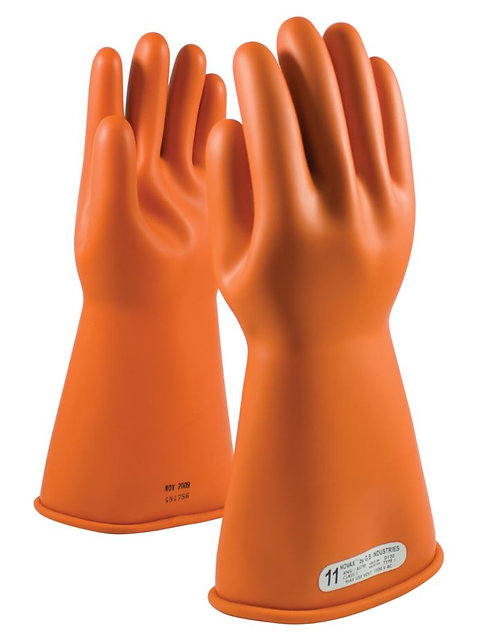 PIP Novax Class 1 Rubber Insulated Glove; 147-1-14