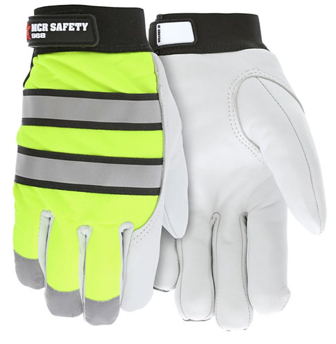 MCR Fluorescent Mechanics Gloves; 968