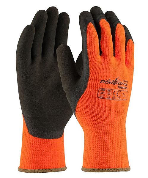 PIP PowerGrab Thermo HI-VIS Orange Gloves; 41-1400