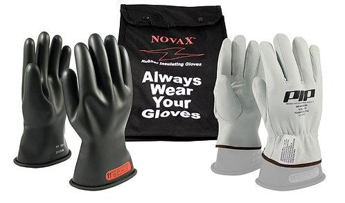 PIP Novax Class 0 Rubber Insulated Glove Kit; 150-SK-0