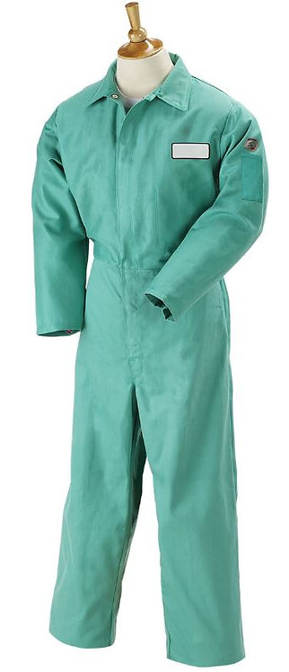 Black Stallion Flame-Resistant Cotton Coverall; F9-32CA/PT