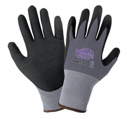 Global Glove Tsunami Grip - New Foam Technology Palm Dipped Gloves; 500NFT