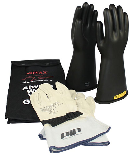 PIP Novax Class 2 Rubber Insulated Glove Kit; 150-SK-0