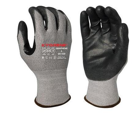 Armor Guys Kyorene Black Polyurethane Palm Coating Glove; 00-420