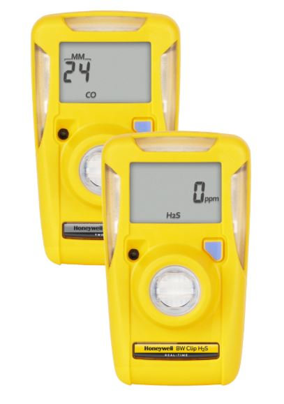 Honeywell BW Clip Series Single-Gas Detector; Oxygen (O2)