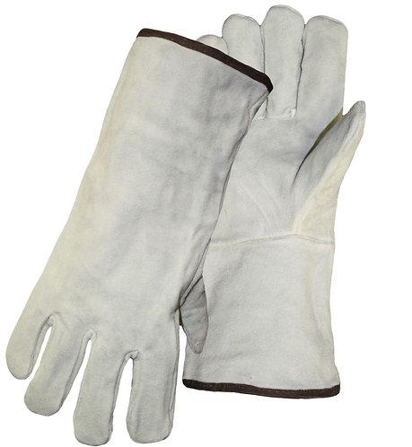 PIP Boss Split Cowhide Leather Welders Glove; 1JL0925