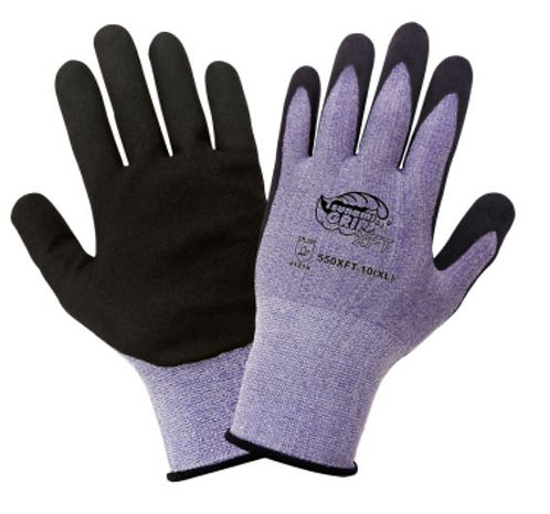 Global Glove Tsunami Grip, Xtreme Foam Technology Coated Glove; 550XFT