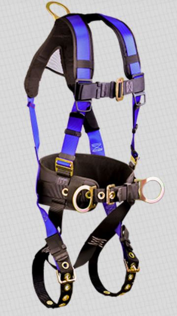 FallTech Contractor Plus Belted Harness