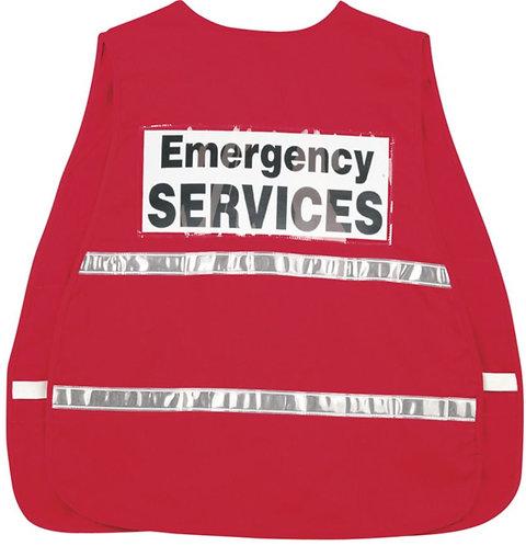 MCR Red Incident Command Vest; ICV204