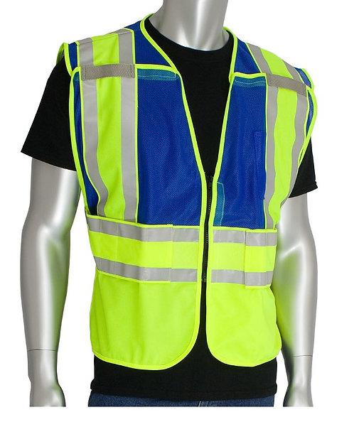 PIP Class 2 Public Safety Vest; 302-PSV-BLU-NL