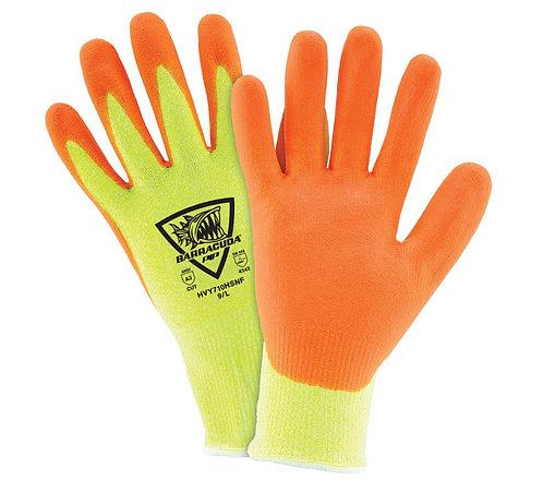 West Chester Barracuda Hi-Vis HPPE Blended, Nitrile Coated Glove; HVY710HSNF