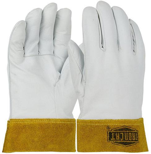Ironcat® Premium Top Grain Kidskin Leather Tig Glove w/  Kevlar® Stitching; 6140