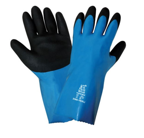 Global Glove FrogWear - Premium Nitrile Chemical Handling Gloves; 2360