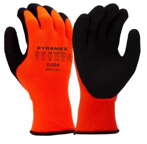 Pyramex Latex Dipped, Insulated 10 Gauge Glove; GL504