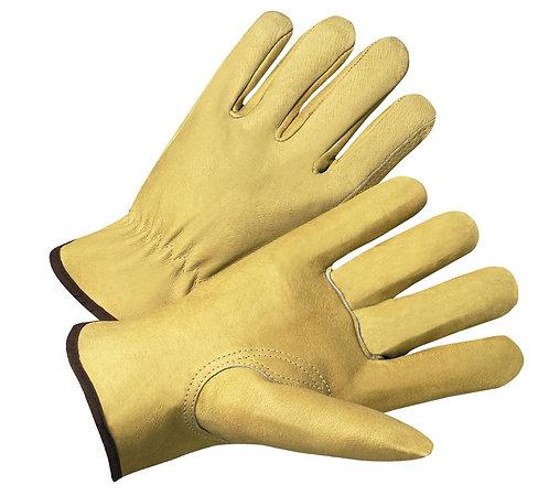 West Chester Premium Grade Top Grain Pigskin Leather Drivers Glove; 9940K