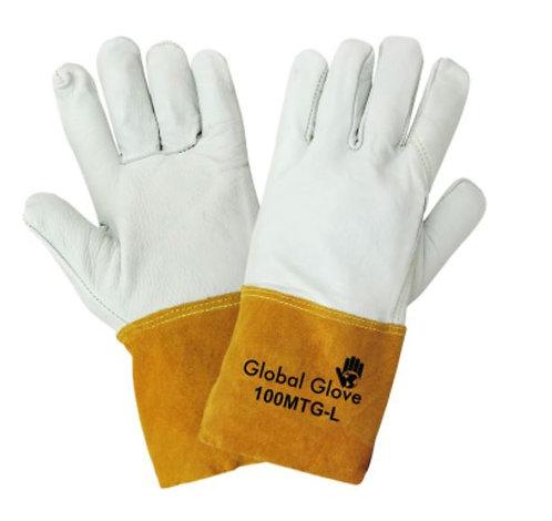 Global Glove Premium Grain Goatskin Mig/Tig Welder Gloves; 100MTG
