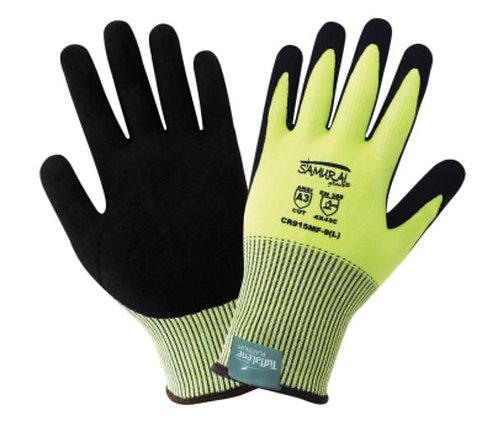 Global Glove Samurai Glove - High-Visibility Tuffalene Platinum Cut Glove