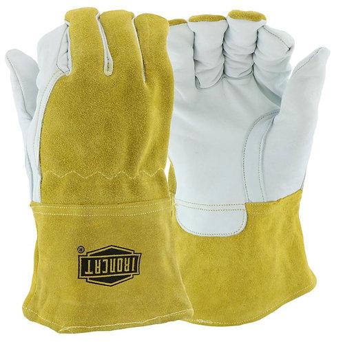 Ironcat® Top Grain Goatskin Leather Mig Welder's Glove; 6143