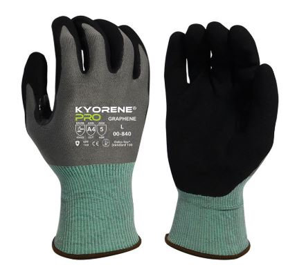 Armor Guys Kyorene Pro Black HCT® MicroFoam Nitrile Palm Coated Glove; 00-840