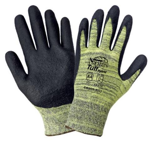 Global Glove Tsunami Grip Palm-Dipped Cut Resistant Glove; CR609