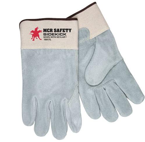 MCR Sidekick® with Full Leather Back Glove; 16017