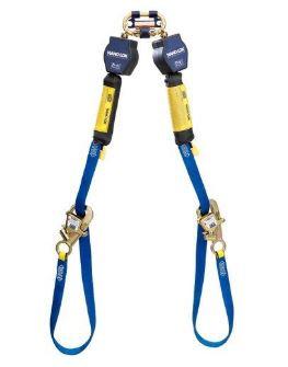 3M™ DBI-SALA® Nano-Lok™ 9' Tie-Back Twin-Leg Quick Connect SRL