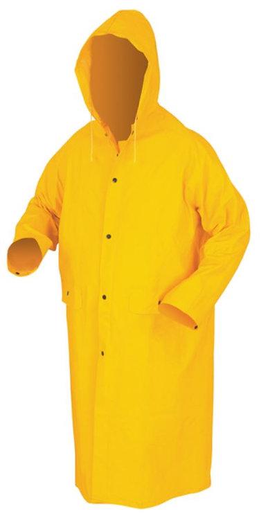 MCR Knee Length Rain Coat with Detachable Hood; 200C